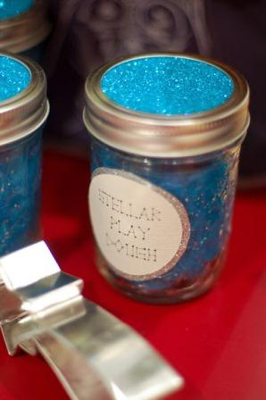 Glitter Play Dough Homemade Christmas Gifts The Happy