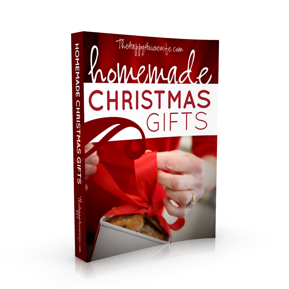 Homemade Christmas Gifts Free Ebook - The Happy Housewife™ :: Home ...