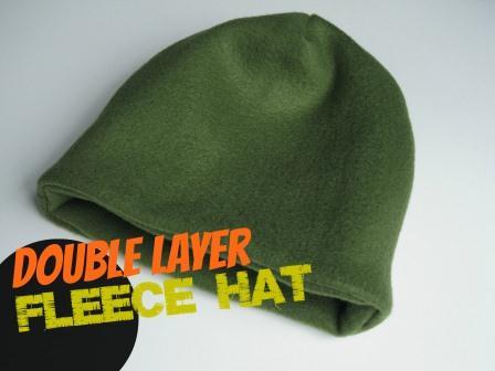 9e87108b4f8 Fleece Hat  Homemade Christmas Gifts - The Happy Housewife™    Home ...
