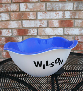 Dollar Store Craft personalized bowl