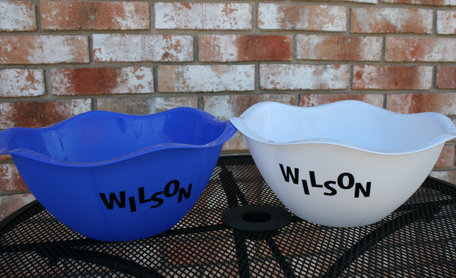 Make Dollar Store Bowls personalized