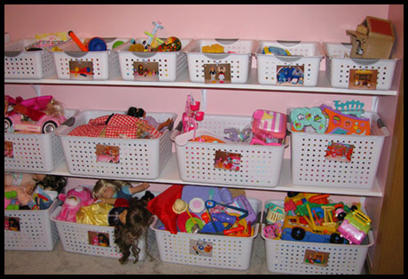 9 Organizing Ideas - Toy Storage