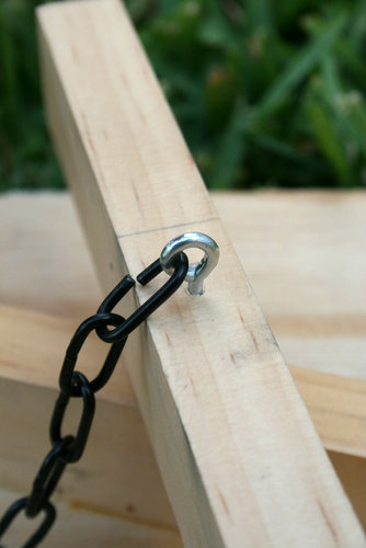 Eyebolt for a DIY Art Easel