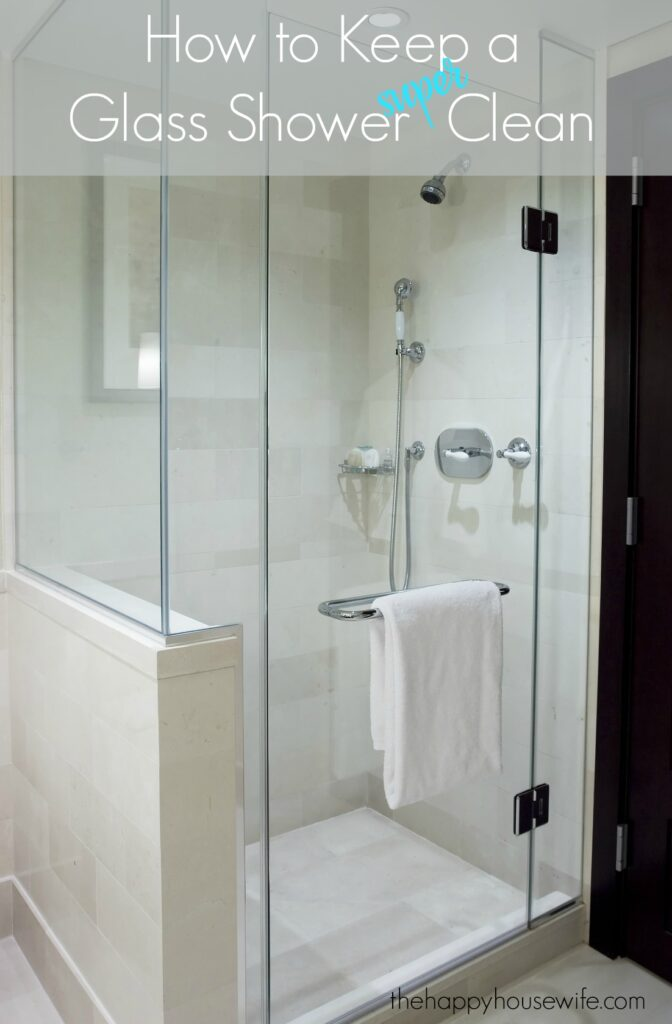 If You Love A Glass Shower But Dread The Soap S Spots That Show Up When