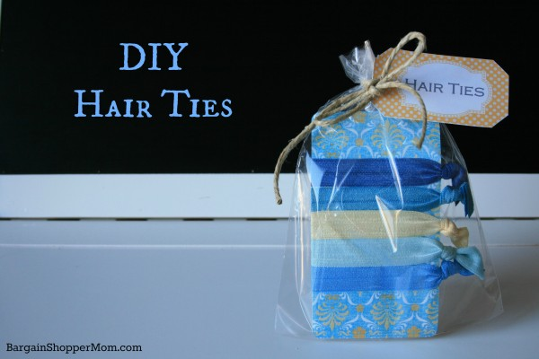 Hair Ties: Homemade Christmas Gifts - The Happy Housewife™ :: Home ...