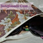 DIY Sunglasses Case | The Happy Housewife