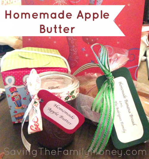 Apple Butter: Homemade Christmas Gifts - The Happy Housewife ...
