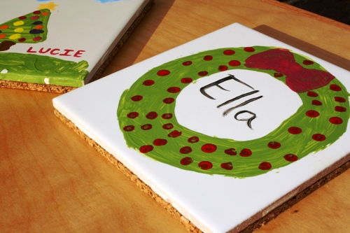 Tile Trivet: Homemade Christmas Gifts - The Happy ...