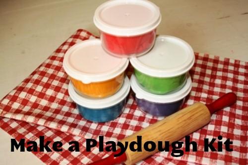 Playdough Kit: Homemade Christmas Gifts