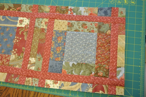 Quilted Notebook Cover (quilt blocks) | The Happy Housewife