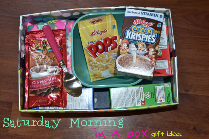 Saturday Morning In A Box Homemade Christmas Gifts The