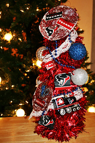 Texans Christmas Tree