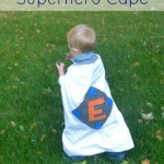 How to Make an Easy Superhero Cape | The Happy Housewife