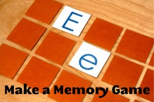 Memory Game: Homemade Christmas Gifts - The Happy ...