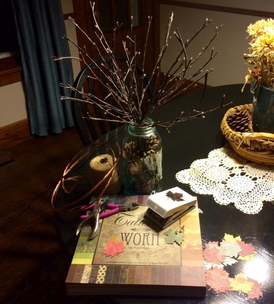 How to Make a Thankful Tree (Supplies) at The Happy Housewife
