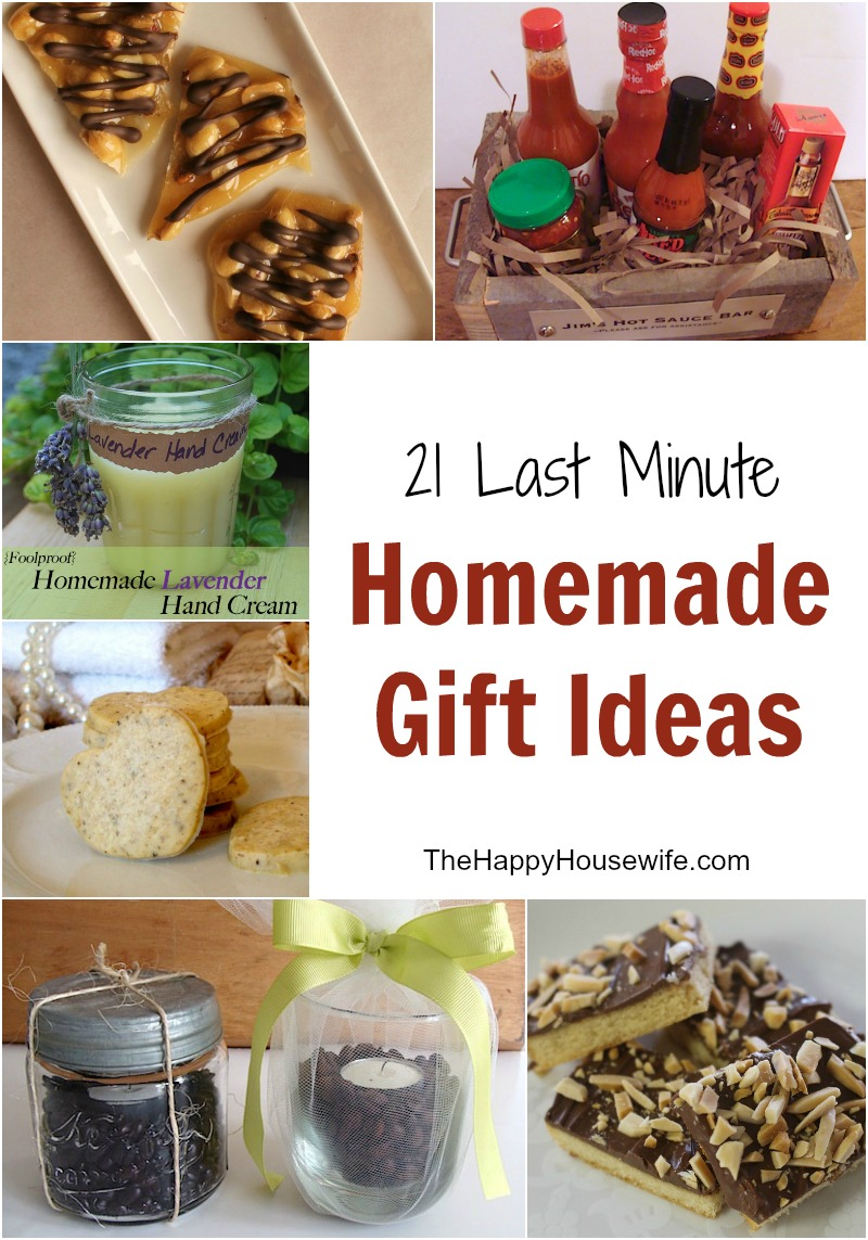 21 Last Minute Gift Ideas for the Holidays - The Happy Housewife ...