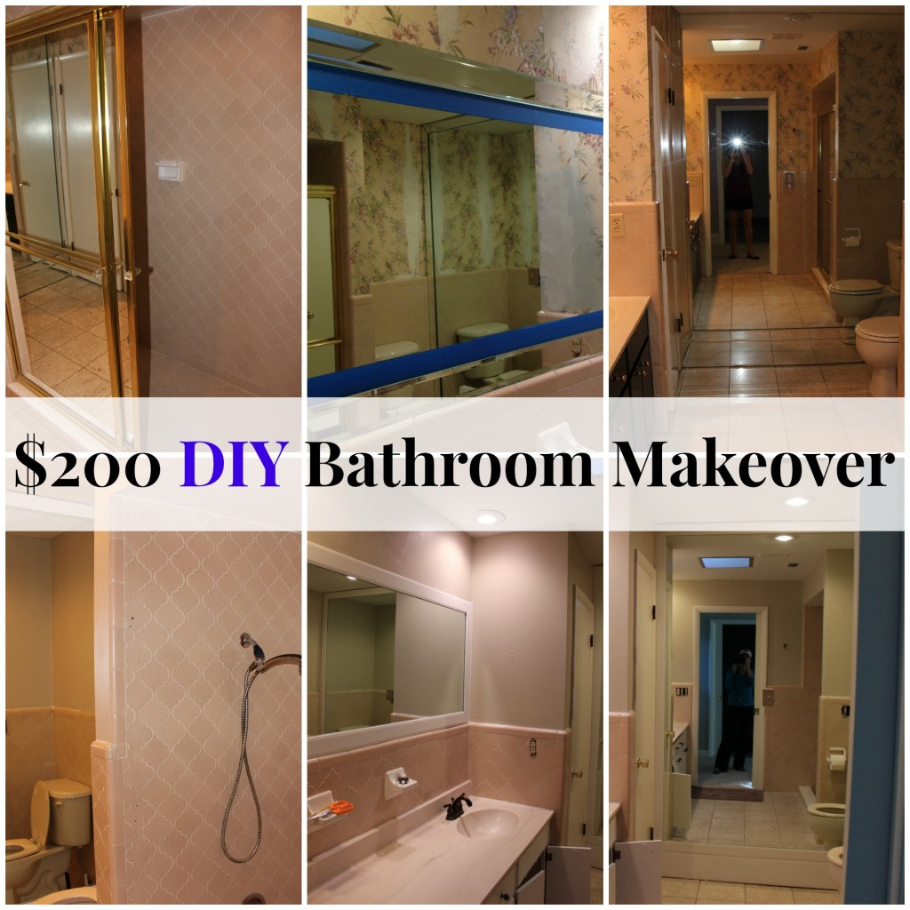 $200 Bathroom Makeover