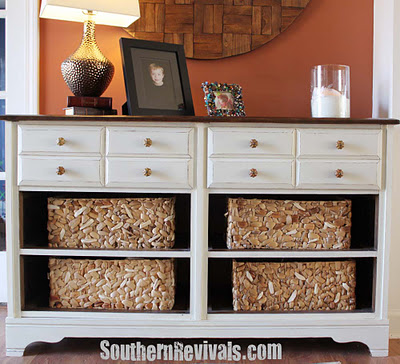 Pottery barn copy cat dresser