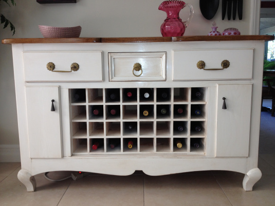 Dresser To Wine Rack Diy The Happy Housewife Home