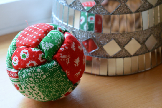 Quilted Christmas Ornament Homemade Christmas Gifts The Happy