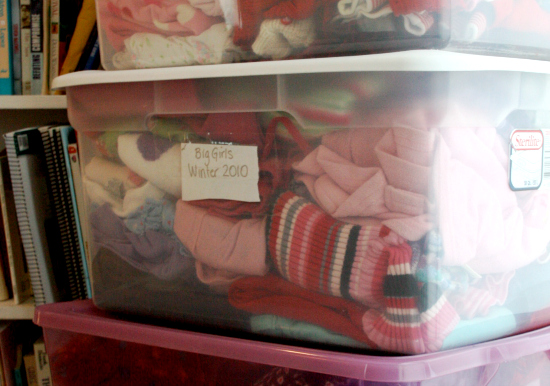 9 Organizing Ideas - Kids Clothes