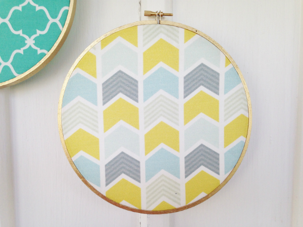 Boho Fabric Wall Art - The Happy Housewife™ :: Home Management