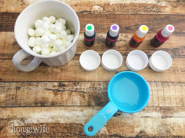 Edible-Marshmallow-Paint-ingredients