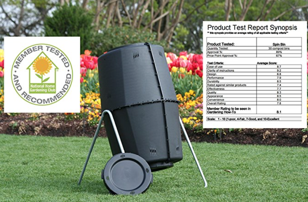 spin bin composter easy on your back