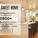 Enter to Win our $1800 Home & Kitchen Giveaway