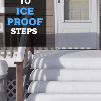 How to ice proof your steps