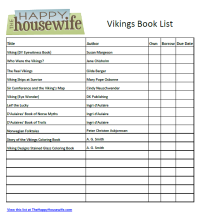 Vikings Book List