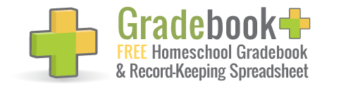 Free Homeschool Gradebook - The Happy Housewife™ :: Home