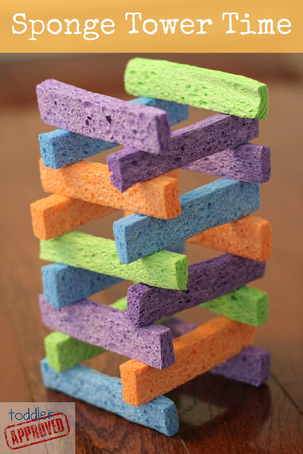 sponge tower blocks