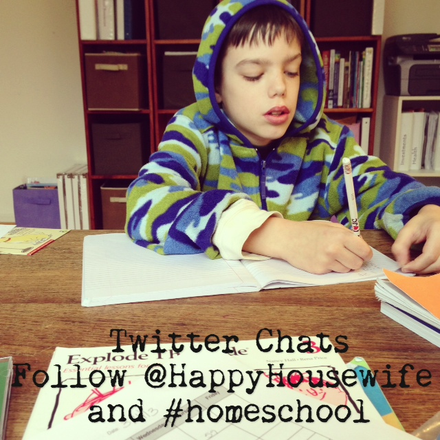 homeschool twitter chats