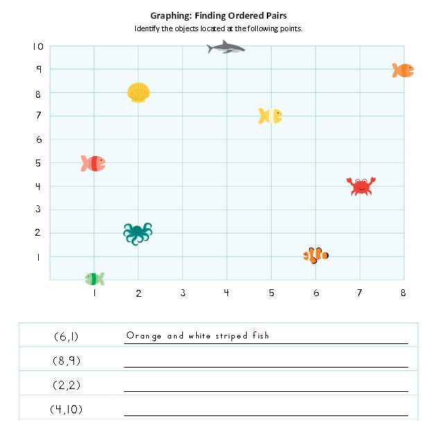 Math Worksheets Fish Themed Free Printables The Happy Housewife – Finding Theme Worksheets