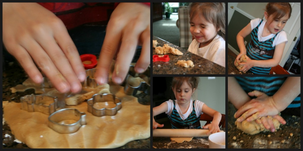 Playing With Peanut Butter Play Dough