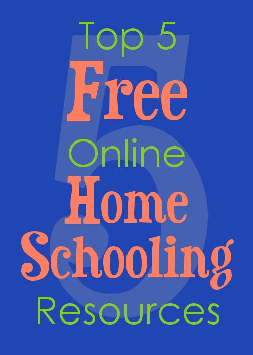 Top 5 Free Online Homeschooling Resources - The Happy ...