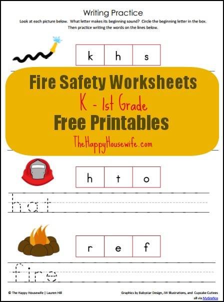 fire worksheets - The Best and Most Comprehensive Worksheets