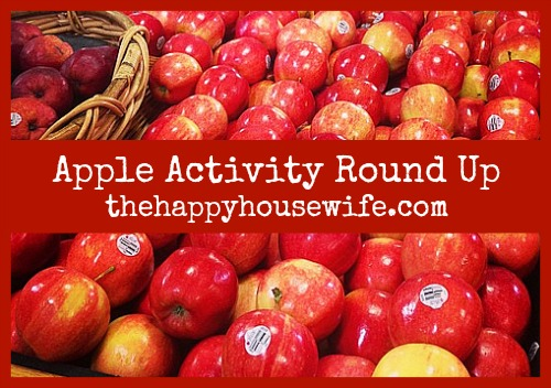 Apple Activity Round Up | The Happy Housewife