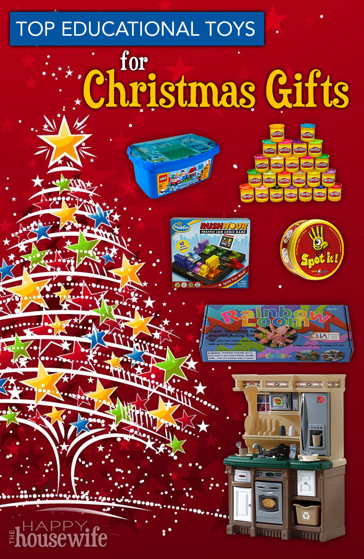 Top Educational Toys for Christmas Gifts - The Happy ...