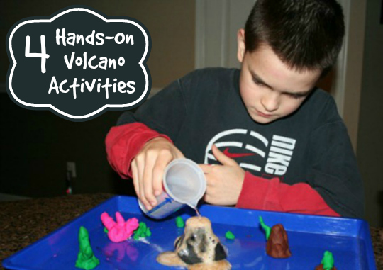4 Hands-On Volcano Activities | The Happy Housewife