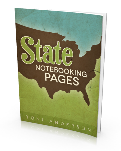 Free State Notebooking Pages eBook at The Happy Housewife