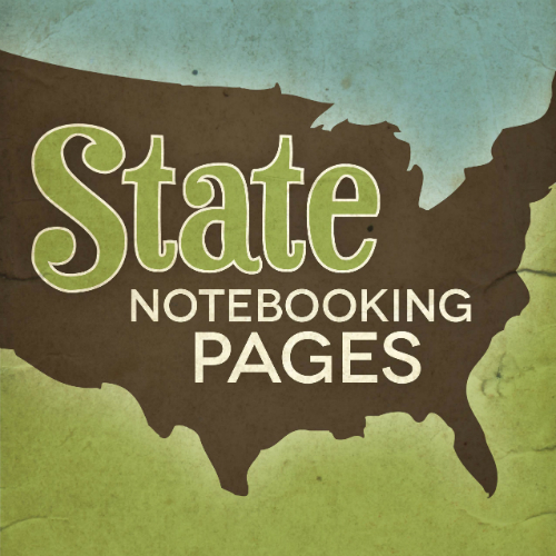 State Notebooking Pages with Answer Key