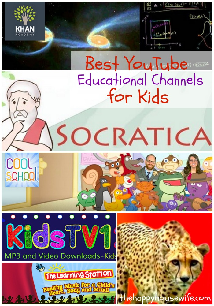 Ten Awesome Educational YouTube Channels For Your Kids