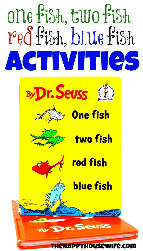 picture regarding Dr.seuss Fish Printable known as 31 Times of Go through-Alouds: Just one Fish, 2 Fish, Crimson Fish, Blue