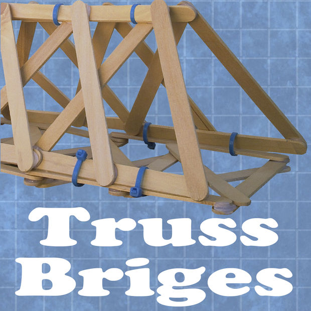 how to build a truss bridge