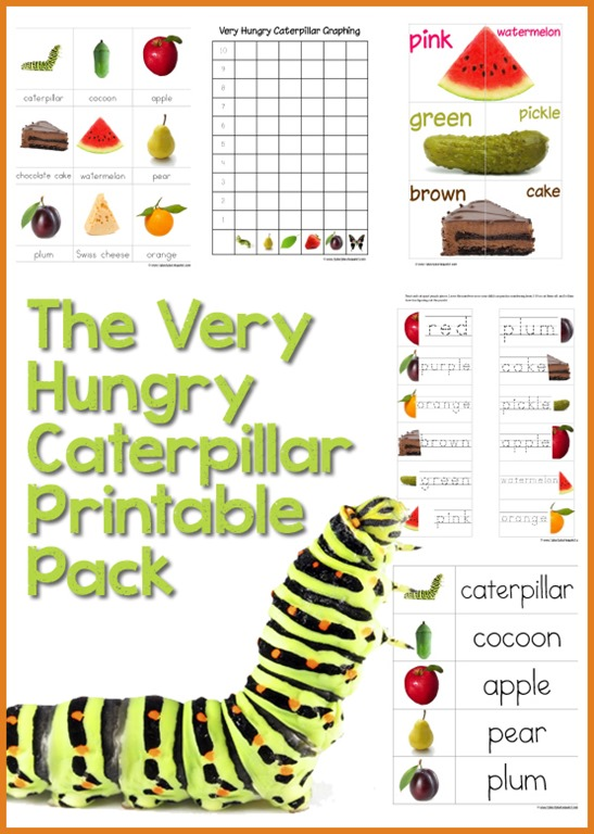 31 Days Of Read Alouds Very Hungry Caterpillar The