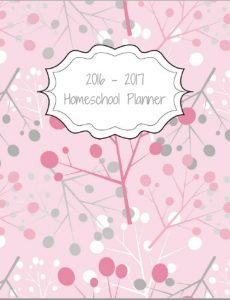 Free 2016 - 2017 Homeschool Planner - The Happy Housewife ...