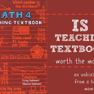 teaching textbooks math curriculum review