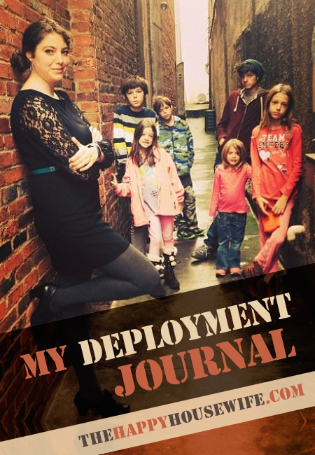 My Deployment Journal | The Happy Housewife